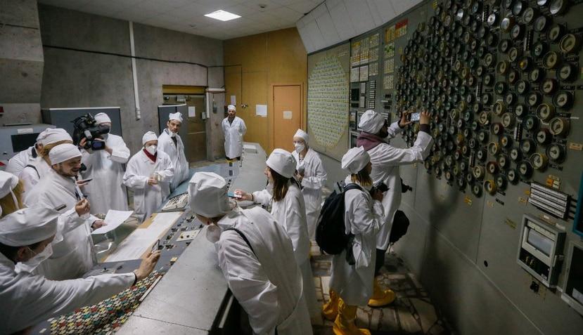 Esa sala es muy importante para entender la tragedia nuclear (EFE).