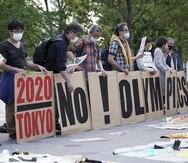 El COI ignora la opinión pública japonesa en contra de los Juegos Olímpicos en Tokio