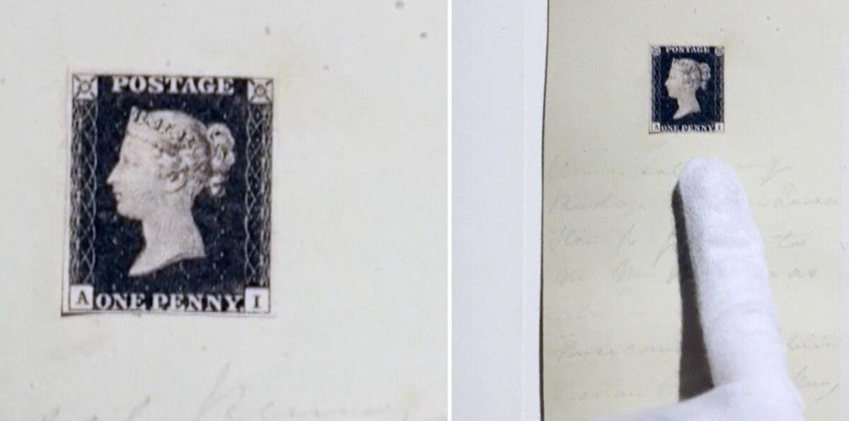 Sello postal podría subastarse por más de 8 millones