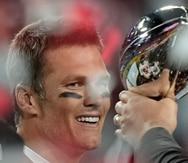 Brady lo hizo de nuevo y por ello ganó por quinta vez el premio de Jugador Más Valioso del Super Bowl