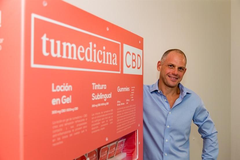 presidente Alberto Burkhart preside ARA Logistics, empresa que elabora productos a base de cáñamo bajo la marca tumedicina CBD.