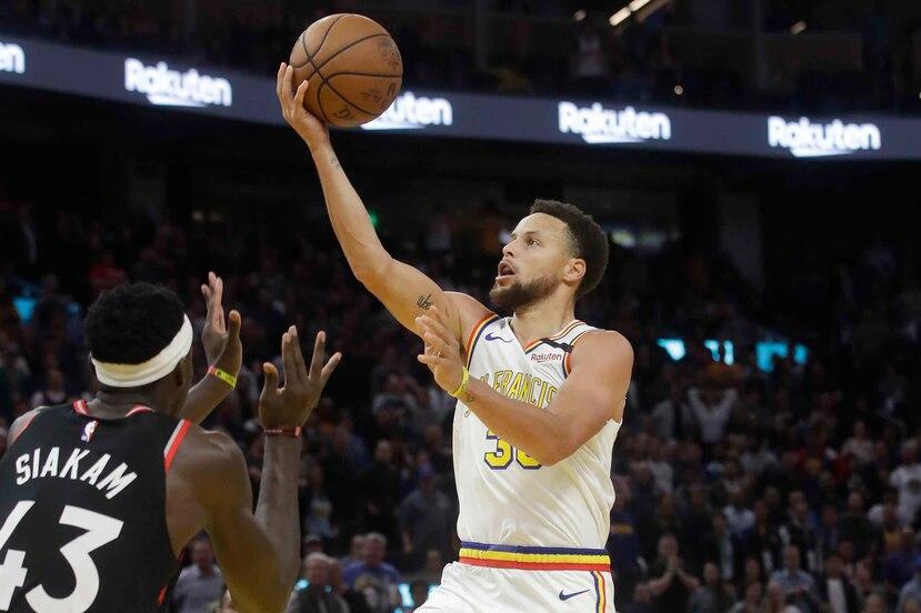 Los Warriors recibirán este jueves la visita de los Nets en el Chase Center. (AP)
