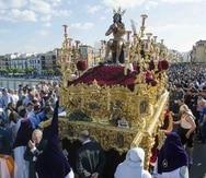 La Semana Santa de Sevilla se celebra desde el siglo XVI. (EFE)
