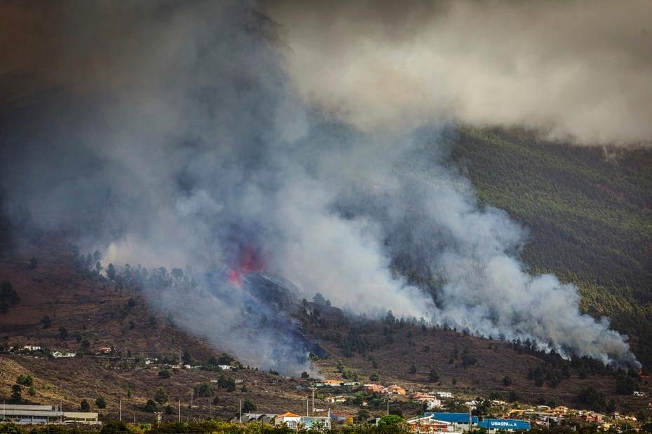 La Cumbre Vieja es uno de los complejos volcánicos más activos de Canarias.