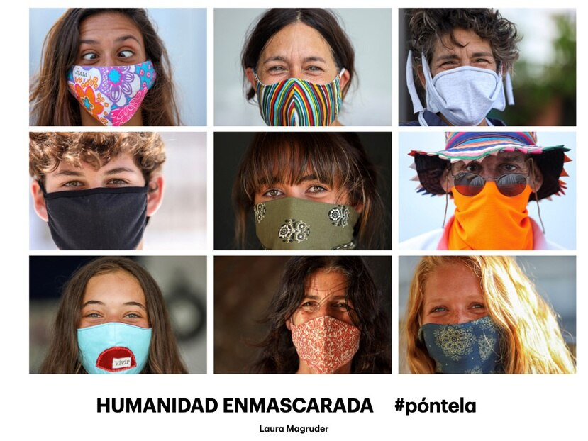 """Exhibición """"Humanidad Enmascarada"""", Laura Magruder"""