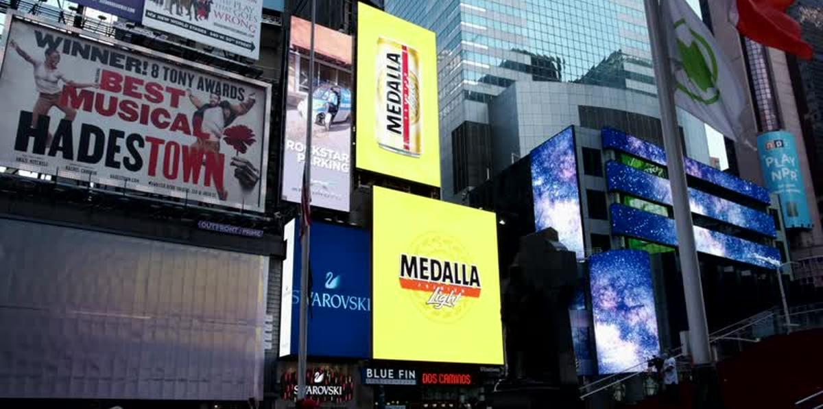 Medalla Light se abre paso en Nueva York