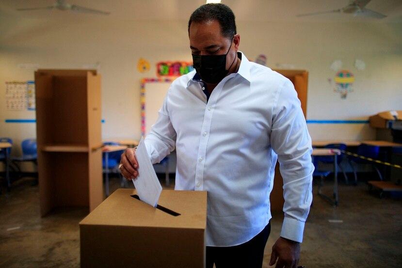 El secretario general del Partido Nuevo Progresista, Carmelo Ríos, dejó claro que no votará por Ricardo Rosselló Nevares.