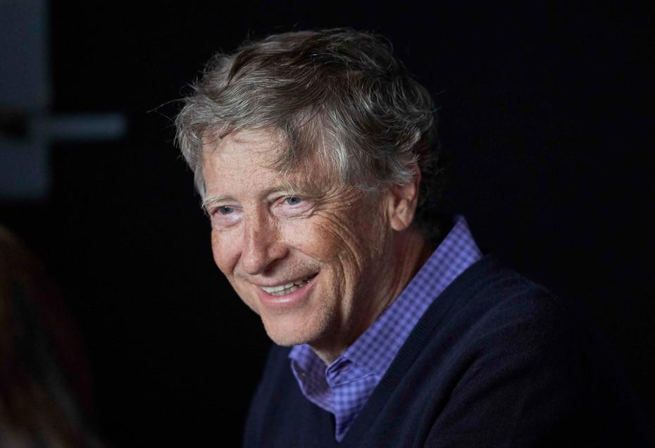 Bill Gates es el cofundador de Microsoft. (AP)