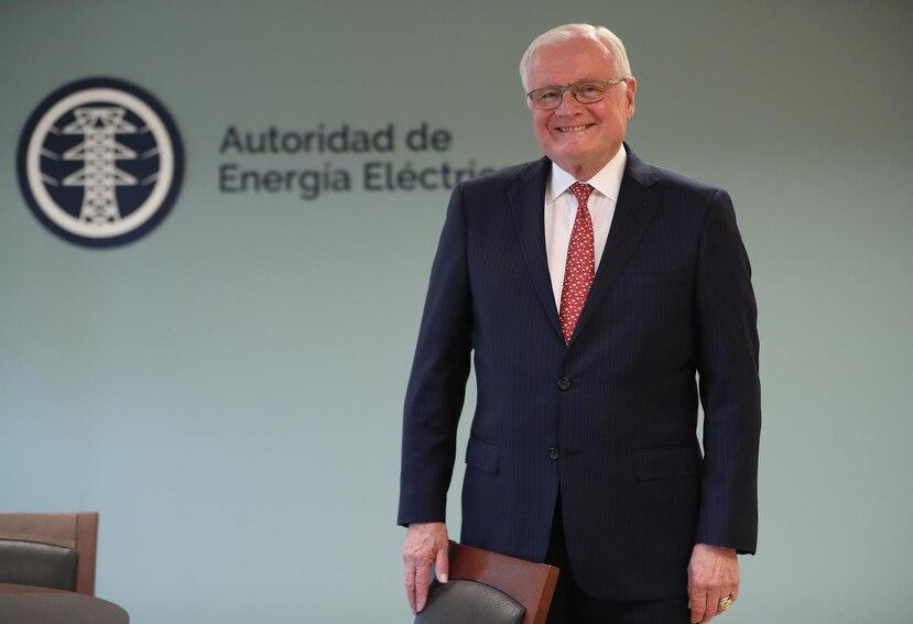 Higgins llega a Puerto Rico tras retirarse, en 2016, de la compañía de de energía y gas de las islas Bermudas.