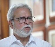 El epidemiólogo José Becerra.