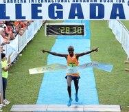 Kitwara se agenció el primer lugar del WB10K en el 2009 con registro de 27:26 minutos, y repitió esta hazaña en las ediciones de 2011 (27:35), 2012 (28:02) y 2013 (28:42).
