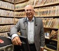 20200219 San Juan Puerto Rico .El Dr Cesar Vazquez en su oficina de Bayamonluis.alcaladelolmo@gfrmedia.com