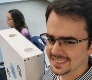 Durante la actividad, estudiantes de Ciencias de Computación del recinto discutieron la aplicación del CESCO. (Suministrada)