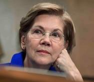 La senadora demócrata Elizabeth Warren  (AP)