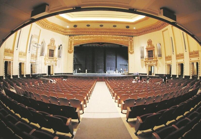 El Teatro de la Universidad de Puerto Rico abrió sus puertas por primera vez en el 1939.
