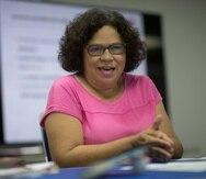 Maria E. Enchautegui, directora de Investigación y Política Pública del Instituto para el Desarrollo de la Juventud, dijo que hay que rediseñar programas para familias pobres que trabajan.