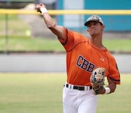 El prospecto Matthew Lugo, de la Carlos Beltrán Baseball Academy. (GFR Media)