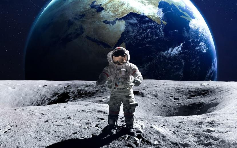 Un astronauta en la Luna (foto de Archivo/Shutterstock).