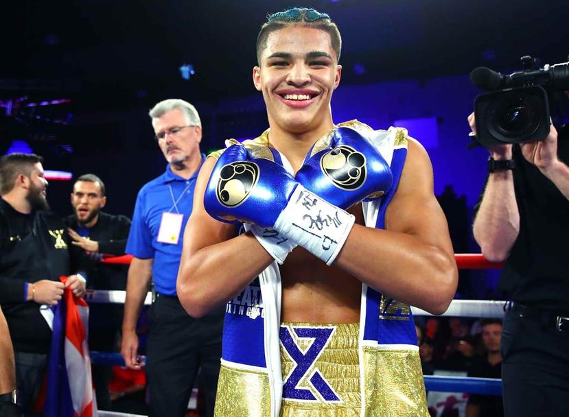 Xander Zayas, boxeador juvenil puertorriqueño de Top Rank. (Suministrada)