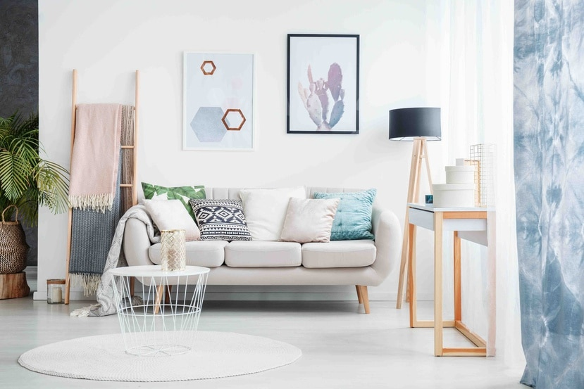 Las mesas deben ser de materiales más traslúcidos y menos pesados visualmente. (Shutterstock)