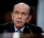Wilbur Ross testifica ante la Comisión de Asignaciones Presupuestarias de la Cámara de Representantes en el Capitolio, en Washington.