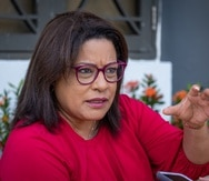 La exrepresentante novoprogresista María Milagros Charbonier.