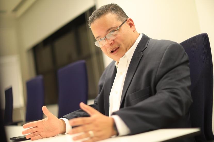 Víctor Ramos, presidente del Colegio de Médicos, solicitó que la organización que preside sea reconocida como una de las entidades autorizadas a cultivar cannabis  con fines investigativos. (GFR Media)