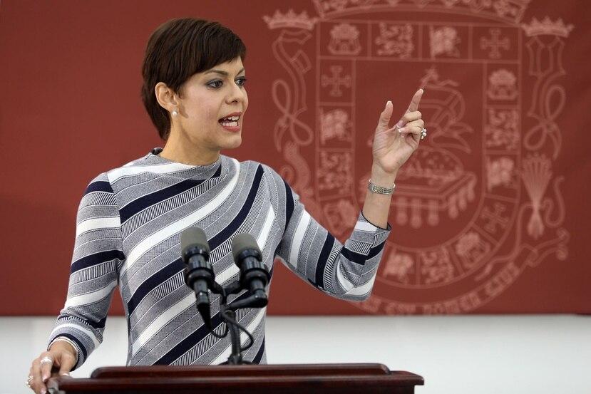 La candidata pipiola a la gobernación, María de Lourdes Santiago, estableció que su colectividad rechaza en la propuesta junta federal de control fiscal.