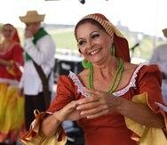 El ballet Folklórico Guateque de Joaquín Nieves deleitó al público con un espectáculo en la tarima principal.