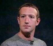 Mark Zuckerberg, director general de Facebook.