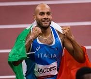 El italiano Lamont Jacobs superó al estadoundiense Fred Kerley en la final de los 100 metros lisos de los Juegos de Tokio.