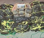 FURA ocupa cargamento de cocaína valorado en sobre $10 millones en la costa de Arroyo