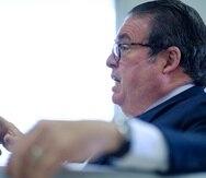 El secretario de Justicia, Domingo Emanuelli.