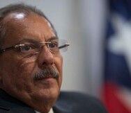 El presidente de la Comisión senatorial de Hacienda, Juan Zaragoza.
