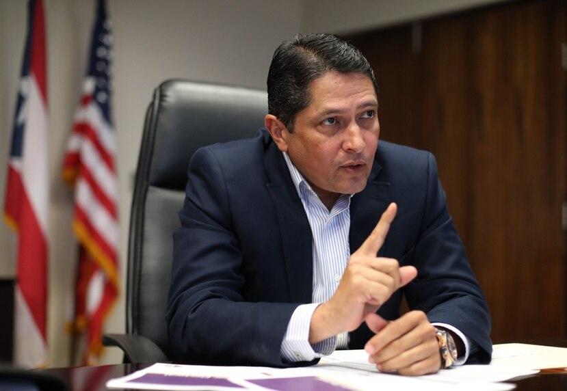 Walter Vélez, contralor electoral de Puerto Rico.
