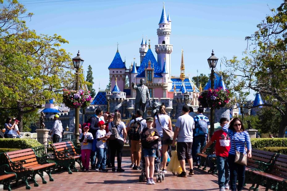Disneyland Park es el único parque de diversiones desarrollado e inaugurado por el propio Walt Disney.