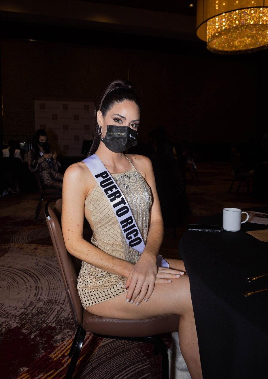 Estefanía Soto tuvo el jueves en la tarde su entrevista con el jurado y según reveló fue una conversación amena y liviana. (Foto: Miss Universe)