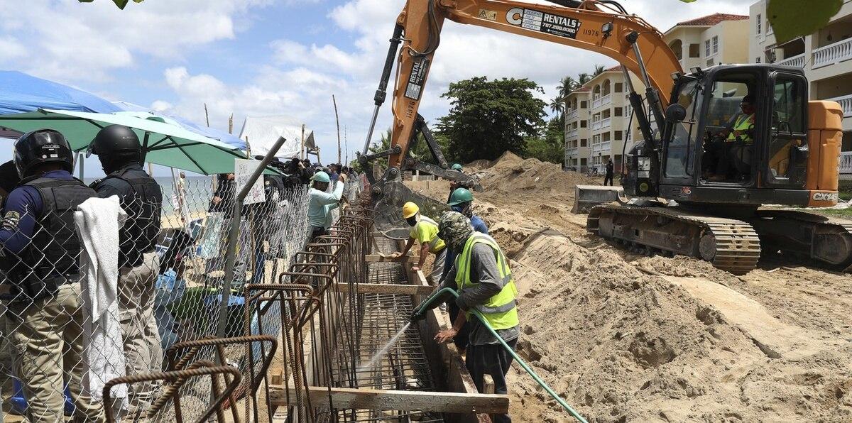 Establecen un campamento permamente en el condominio Sol y Playa para continuar la lucha contra el proyecto de construcción