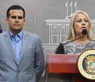 Former Governors Ricardo Rosselló and Wanda Vázquez