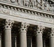 En esta imagen del 3 de septiembre de 2021 se ve la Corte Suprema en Washington.