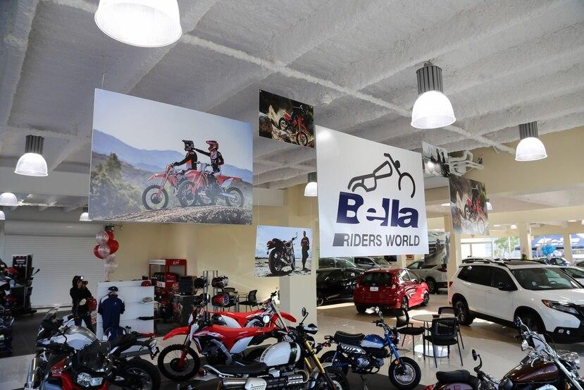 Desde el nuevo local en Ponce, Bella Group ofrecerá al público vehículos Honda y Mazda, así como todos los productos que mercaden a través de su tienda Planet Honda como motoras, generadores eléctricos y equipos de jardinería, entre otros.