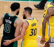 Jayson Tatum anota 44 puntos y los Celtics frenan a los Warriors