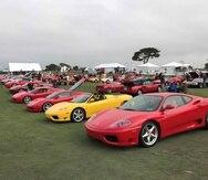 El Concorso Italiano se llevó a cabo en el campo de golf Bayonet and Black Horse, en Monterey, California.
