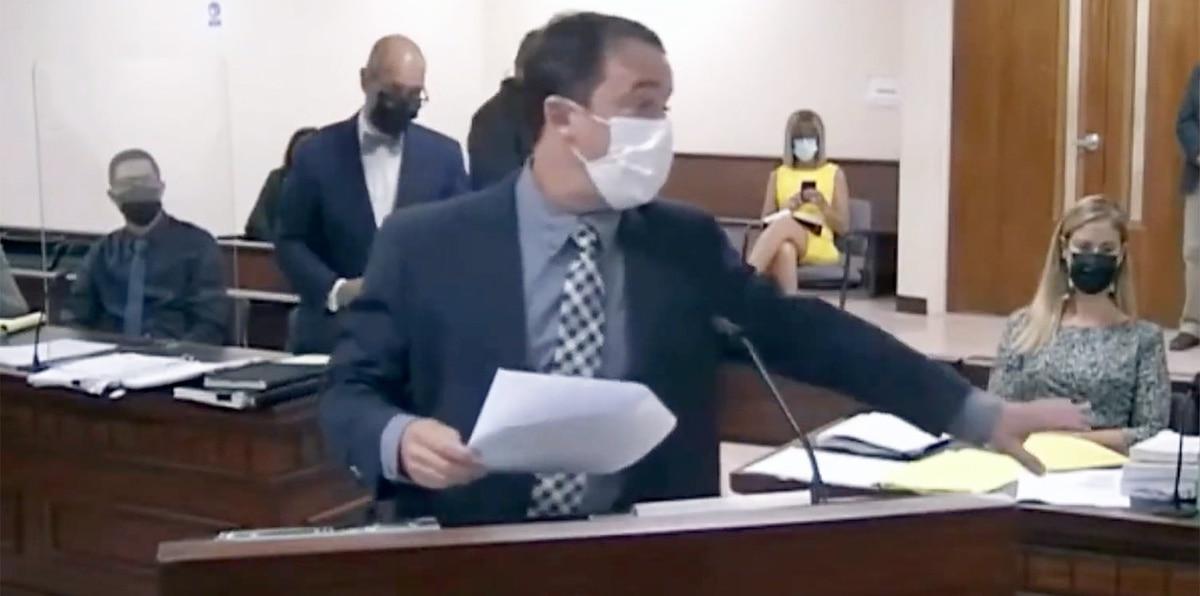 Dramático momento durante juicio contra Jensen Medina