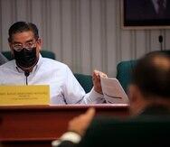 """El presidente de la Cámara, Rafael """"Tatito"""" Hernández."""