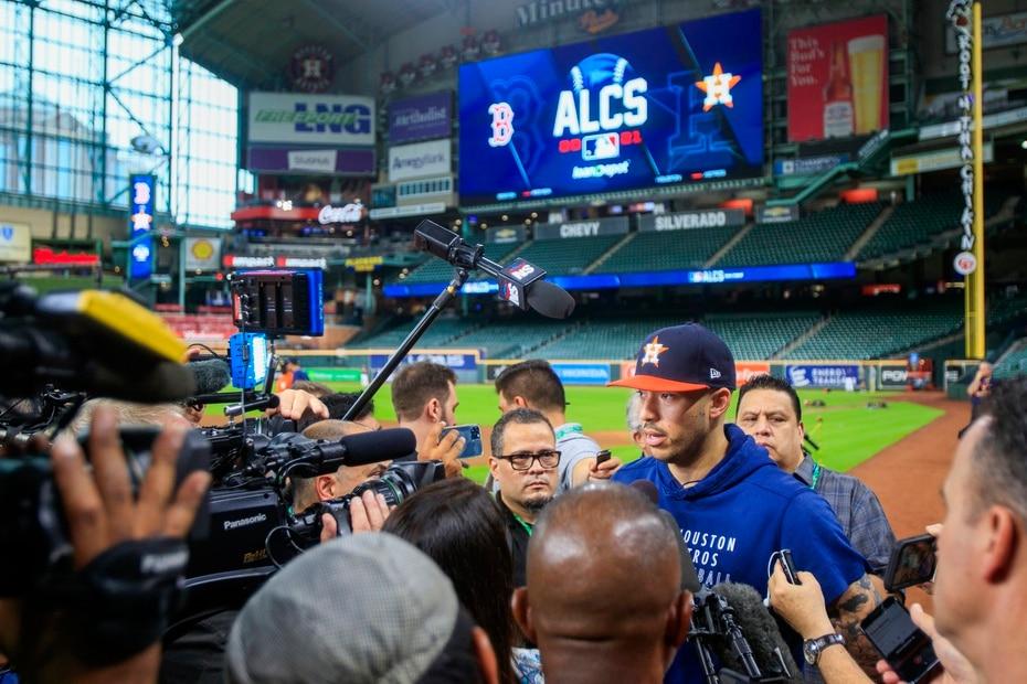 El puertorriqueño Carlos Correa y los Astros de Houston llegaron a la Serie de Campeonato de la Americana.