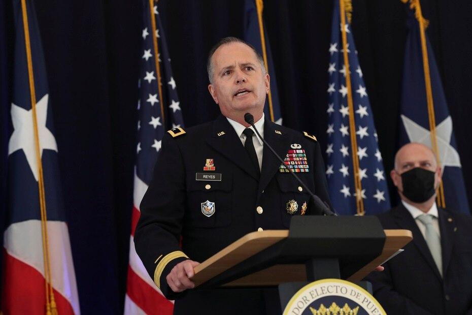 El ayudante general de la Guardia Nacional, general José Reyes, permanecerá en su posición.