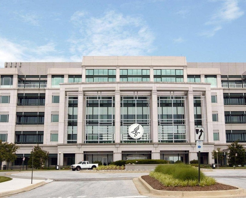 En la foto, la sede del Centro de Servicios para Medicare y Medicaid en Baltimore, Maryland.