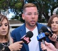 Vicente Saavedra aseguró que no es persona de interés en el caso del asesinato de Kevin Fret.