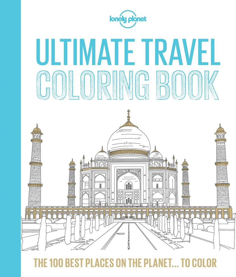 Lonely Planet Ultimate Travel Coloring Book (Suministrada)